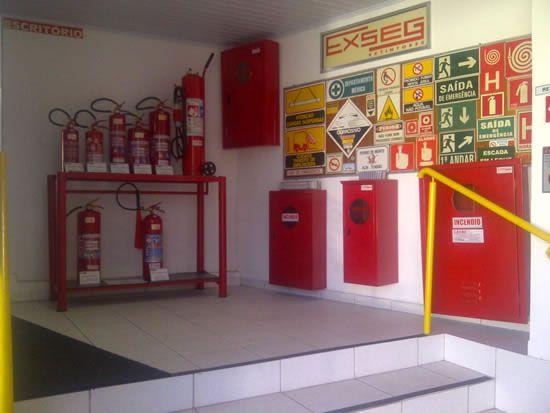 Extintores de incêndio em Taubaté