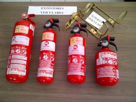 Vendas e recargas de extintores em Taubaté